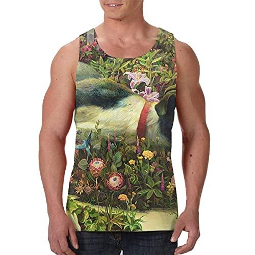 nhj Men's Rival Sons Feral Roots Premium Tank Tops Black T-Shirts & Hemden(XX-Large)