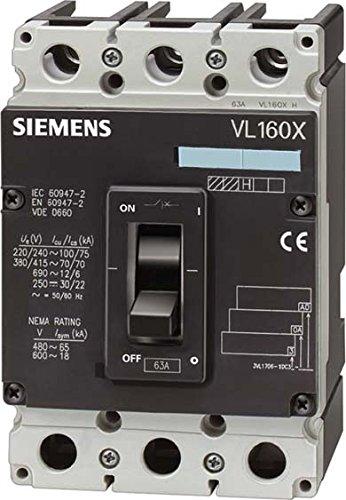 Siemens Indus. Sector Power Switch 3VL17102EA430AA0VL160X Power...