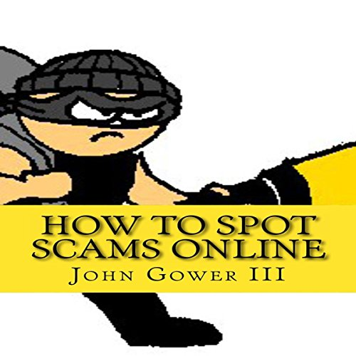 How to Spot Scams Online, First Edition audiobook cover art