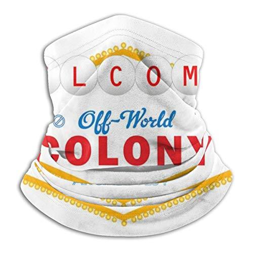Welcome To Off World Colony Arcadia 234 Blade Runner Fahrrad Bandanas für Staub, Outdoor, Festivals, Sport, Radfahren