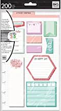 me & my BIG ideas POST-09 The Happy Planner Pre-Punched Sticky Notes, Be There