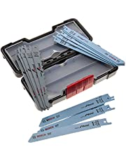 Bosch Professional Basic for Wood and Metal 15-Delige Reciprozaagbladenset (voor Hout en Metaal, in Tough Box)