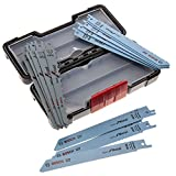 Bosch Professional Set de 15 Lames - Wood and Metal basic s 918 AF (5x)/ S 918 BF (5x)/ S 617 K (5x)