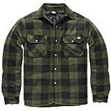 Dickies - Camisa térmica acolchada para trabajo, Verde, XX-Large