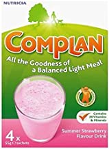 Complan Strawberry Flavour Nutritional Drink 4 X 55G – Pack of 2 by Complan Estimated Price : £ 34,83