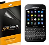 (6 Pack) Supershieldz for BlackBerry Classic and BlackBerry Q20 Screen Protector, High Definition Clear Shield (PET)