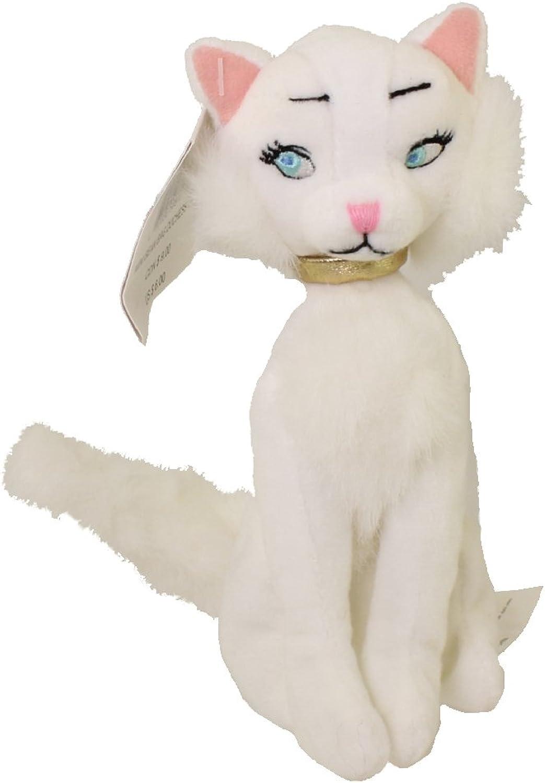 Disney Aristocats Duchess the White Cat Mini Bean Bag Plush
