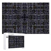 INOV アユミバドゥニューヨークスタイル ジグソーパズル 木製パズル 1000ピース インテリア 集中力 75cm*50cm 楽しい ギフト プレゼント