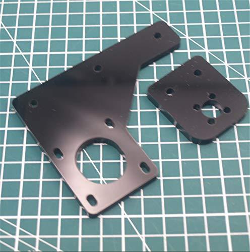XBaofu 1pcs Acrylic Dual Z Axis Upgrade TR8 Lead Screw Motor Mount Plate Kit For HE3D/Tevo Tarantula 3D Printer Parts 6mm Thick