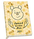 Official Winnie The Pooh Bee 2021 Diary - A5 Diary