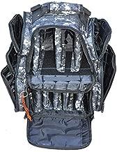 Explorer Tactical Rangemaster Gun Range Bag Backpack Deluxe Tactical Divider Gear Bag (Dark Camo)