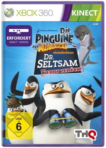 Die Pinguine aus Madagascar: Dr. Seltsam kehrt zurück (für XBox 360 + Kinect)