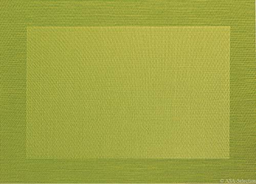 ASA 78069076 Set de Table, Matériel Synthétique, Kiwi/Vert, 9x12x16 cm
