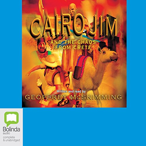 Cairo Jim and the Chaos from Crete audiobook cover art
