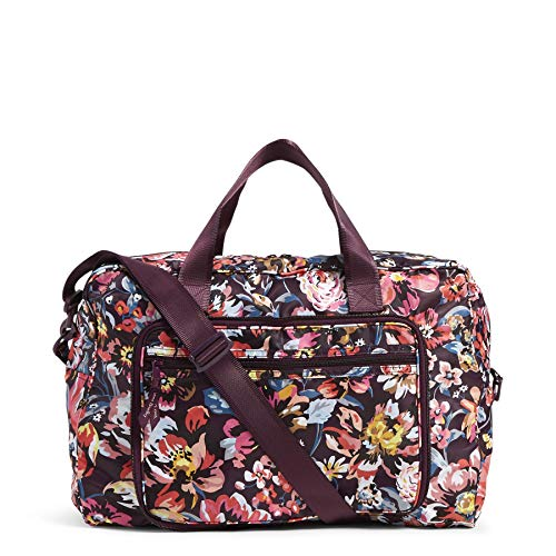 Vera Bradley Women's Packable Weekender Travel Bag, Indiana Blossoms, One Size