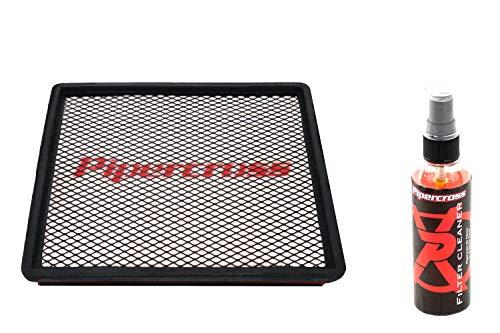 Pipercross Filtro aria + detergente compatibile con Audi 100 (S6) C4 4.2i 290/326 PS 06/94-12/97