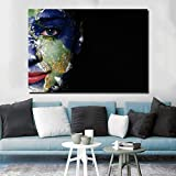 yaoxingfu Sin Marco Abstract Earth and Woman Waterproof Canvas ng For Living Room Modern Wall Art Print Posters Decoración Sin Marco 60x90cm
