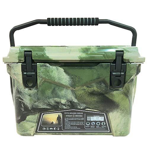 mita アイスランド クーラーボックス 20QT (18.9L) グリーンカモ/Army Camo 付属品付き 最長保冷5日間