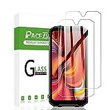 PaceBid 2 Pack Protector de Pantalla Compatible con Doogee S96 Pro, [ Dureza 9H ] [ Anti-Arañazos ] [ Caso- Amistoso ] Cristal Templado Premium para Doogee S96 Pro