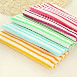 Garciaria Kitchen Cleaning Rag Dish Towel Microfiber Dish Cloth Car Wash Glass Cleaning Cloth Highly Absorbent