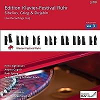 Sibelius Grieg Scriabin: Edition Klavier-Festival by SIGFRIDSSON/GUGNIN/SPRING