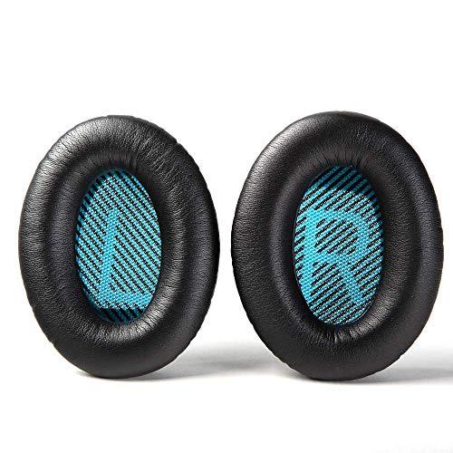 Wiki VALLEY Almohadillas de Repuesto para Auriculares Bose QC35/QC35ii/QC25/QC15/QC2/AE2/AE2i/AE2W, Premium para SoundLink...