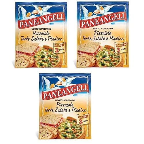 Paneangeli Lievito Pizza, torte salate e piadine Lievito istantaneo (ogni busta 3 dosi)