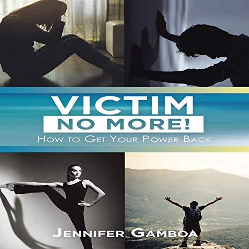 Victim No More! audiobook cover art
