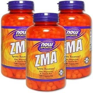 3個セット ZMA(亜鉛&マグネシウム&B6) 180粒 [海外直送品]