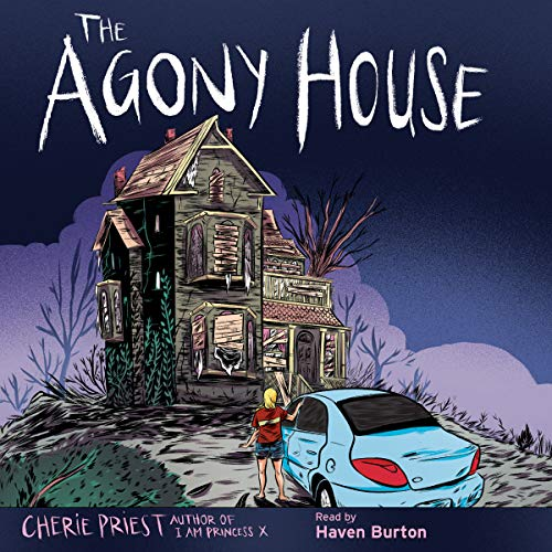 The Agony House audiobook cover art