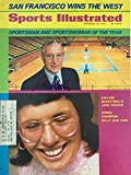 Sports Illustrated Magazine December 25, 1972 (Vol 37, No. 26): John Wooden and Billie Jean King