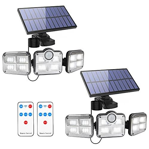 Apliques Exteriores Solares Con Sensor apliques exterior  Marca Fousômo