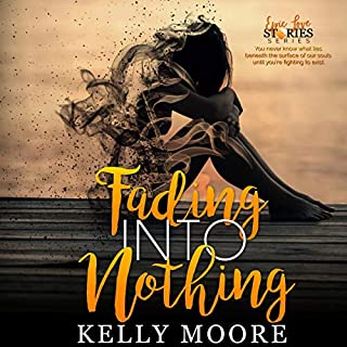 Fading into Nothing     Epic Love Stories Series, Book 2              By:                                                                                                                                 Kelly Moore                               Narrated by:                                                                                                                                 Jackie Wynn,                                                                                        Van Wynn                      Length: 4 hrs and 22 mins     18 ratings     Overall 4.7