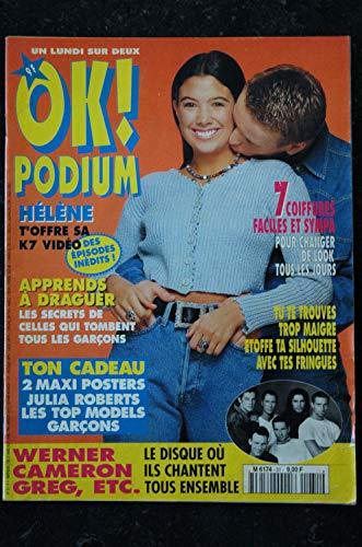 OK PODIUM ! 31 1994 03 HELENE Julia ROBERTS Les Nuls WERNER CAMERON GREG Roch VOISINE