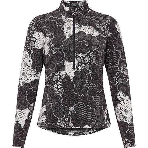 McKINLEY Dora T-Shirt à Manches Longues pour Femme Blanc/Multicolore Taille 38