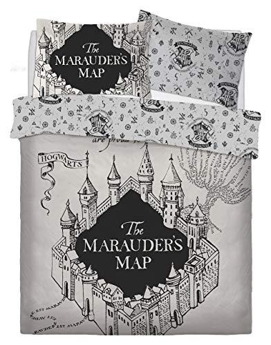 Warner Bros Harry Potter 'Marauders Map' Double Duvet Set