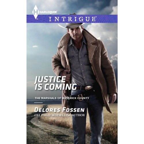 Justice is Coming audiobook cover art