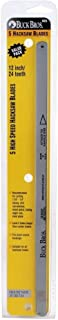 . 12 In. And 24T Hss Hacksaw Blade (5-Pack)-Buck Bros-120GM524