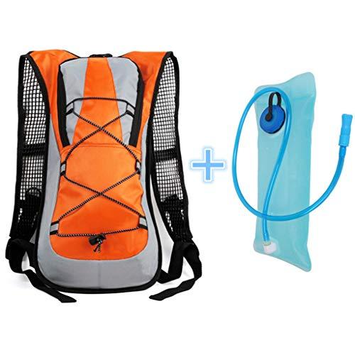 Laufrucksack, 5L Große Kapazität Wasser Tasche Feuchtigkeitsspendende Tasche Laufweste Tasche Männer Und Frauen Rucksack Reiten Freizeit Wandern Wandern Wasser Tasche Rucksack (blaue Saugleitung)