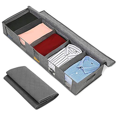 Danigrefinb opbergtas voor slaapkamer groot opvouwen onder bed quilt deken kleding schoenen opbergtas box organisator