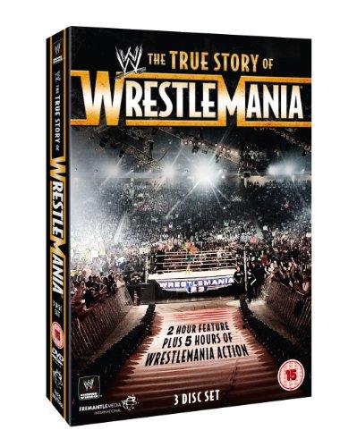 WWE-The True Story of Wrestlemania (3 DVD) [Edizione: Regno Unito] [Import]