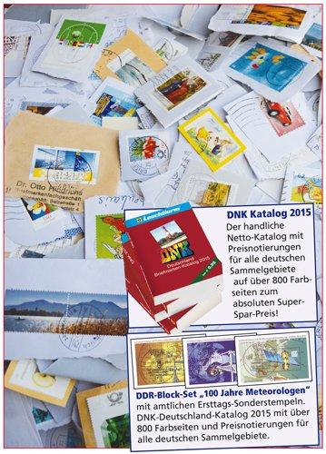 Goldhahn BRD-Missionsware Plus DDR Blocks Plus DNK Katalog 2015 Briefmarken für Sammler