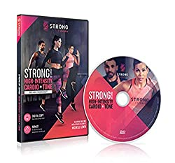 powerful STRONG by Zumba: High-intensity aerobic exercise and tuning, Michelle Levin's 60-minute training DVD