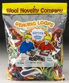 Wool Novelty Cotton Weaving Loops, 16-Ounce