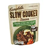 Campbell's Slow Cooker Sauces Tavern Style Pot Roast with Mushrooms and Roasted Garlic 13oz (pack of 4)