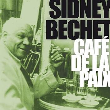 Sidney Bechet au Café de la Paix