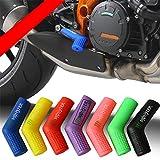 DishyKooker - Protezione per Scarpe, in Silicone, per Moto da Cross, Colore Casuale