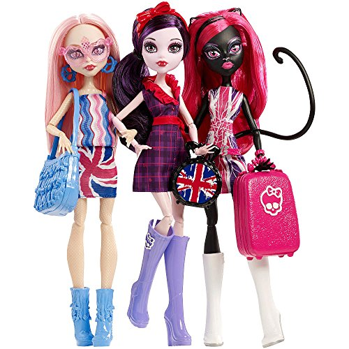 Monster High Exclusive Ghoulebrities in Londoom!