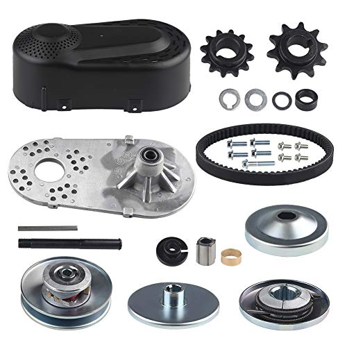 WATERWICH Go Kart Torque Converter Clutch Kit Replaces Comet TAV2 218353A 3/4' 30-75 Manco 10T #40/41 and 12T #35 Chain 30 Series