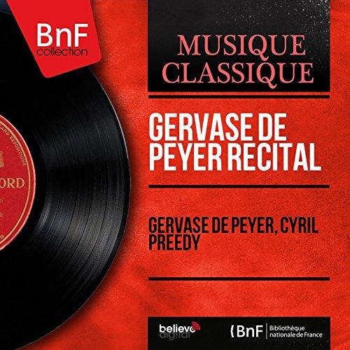 Gervase de Peyer Recital (Mono Version)